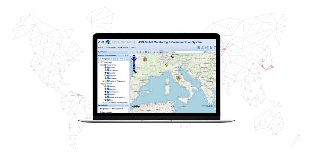 Screenshot Global Monitoring